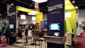 Figure 1 - LTO Program Booth at NAB