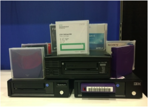 (Figure 1) LTO-7 Drives and Cartridges